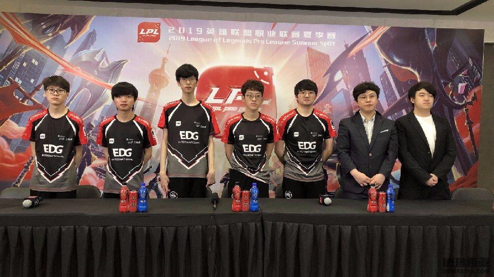 EDG采访:杭州主场有毒LGD真的难赢